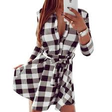 Black And White Plaid Shirt Womens Not Just Another Southern Gal Fancyinn Women Long Sleeve Plaid
