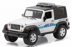 police jeep toy greenlight 1 64 hermosa beach ca 2007 jeep wrangler