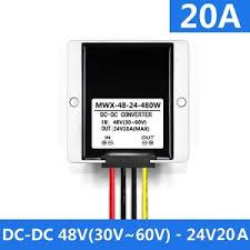 Jual Dc Step jual 480w 20a dc dc step module 48v to 24v converter media