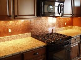 copper backsplash kitchen using copper backsplash for kitchen modern kitchen 2017