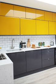 grey kitchen cupboards with black worktop 11 black kitchen cabinet ideas for 2020 black kitchen