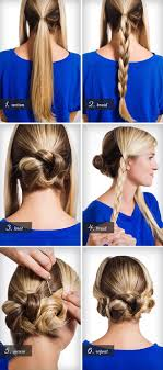 different hairstyles in buns braids twists and buns 20 easy diy wedding hairstyles offbeat bride