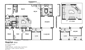 100 5 bedroom manufactured home floor plans champion homes