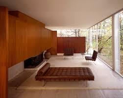farnsworth house living room mies van der rohe plano illinois
