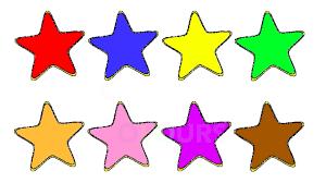 learn colours children stars colouring