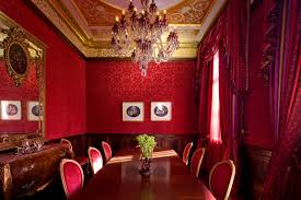 Red Dining Room Ideas Dining Room Red Dining Room Red Dining Room Stock Photo Image