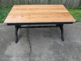 hardwood flooring as a tabletop my repurposed