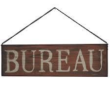 plaque porte bureau plaque enseigne de porte bureau 50 cm x 15 cm chemin de cagne
