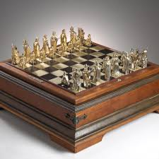 Cool Chess Sets by The Art And Jewelry Of J Grahl Design Jewelry Gallery Ganoksin