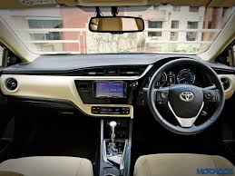 cost of toyota corolla in india 2017 toyota corolla altis facelift india review price images