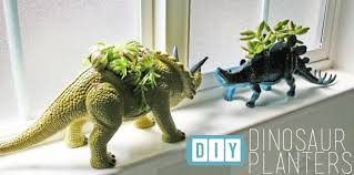 succulent planter the how to gal diy dinosaur succulent planter