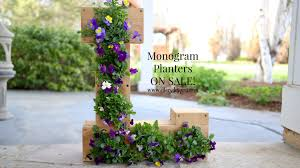 ellery designs monogram planters for sale u2013 ellery designs