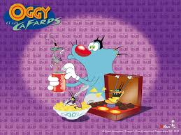 wallpaper oggy cockroaches cartoons 1024 768