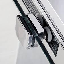 shower enclosure glass door zinc alloy rollers runners wheels d11