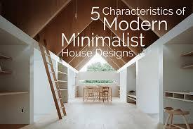 Characteristics Of Simple Minimalist House Plans - Modern minimalist home design