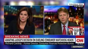 consumer bureau protection agency ex of consumer agency appointee mulvaney won t be
