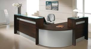 bureau d acceuil bureau accueil comptoir de r 233 ception en bois tous les