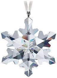 swarovski 2012 snowflake ornament home