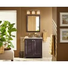 Glacier Bay Bathroom Vanities Glacier Bay Lancaster 36 In W X 19 In D Bath Vanity In Amber