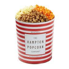 the hton popcorn company 3 flavors split popcorn special