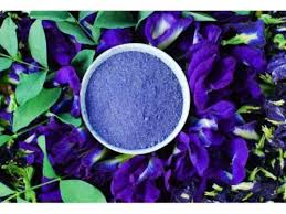 100 organic blue butterfly pea flower powder for blue tea blue