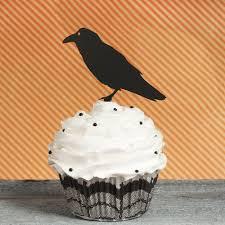 halloween horror nights promo codes halloween cupcake toppers crow cupcake toppers raven cupcake