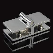 stall door hinges brass brushed silver glass door 2 pcs