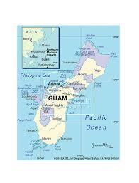 guam on map maps of guam