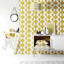 Yellow Mustard Color Roomblush Wallpaper Zigzag Mustard Yellow Paper 1140x50cm