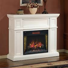 sears electric fireplace corner logs media center 2026 interior