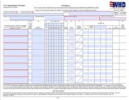 certified payroll form page 1 wh347 prevailing wage pinterest