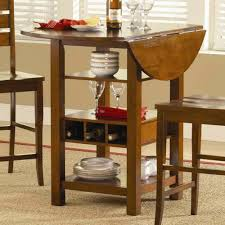 Drop Leaf Table With Bench Drop Leaf Kitchen Table With Storage Leather Seats Brown Wooden