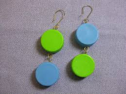plastic bottle earrings new jewelry a day make earrings from plastic bottle caps