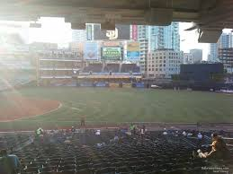 Petco Park Map Petco Park Section 115 Rateyourseats Com