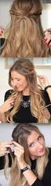 25 easy half up half down hairstyle tutorials for prom page 3 of
