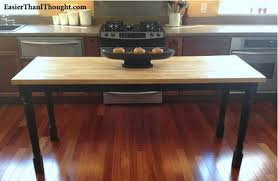 butcher block kitchen table butcher block table ikea classic furniture diy