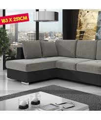 canapé avec coffre canapé d angle avec coffre à gauche en similicuir et tissus pas che