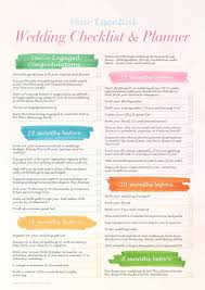 wedding checklist book your essential wedding checklist planner wedding journal