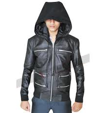 mens moto jacket mens biker black leather jacket