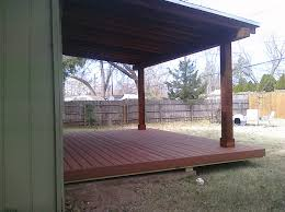 pergolas arbors and decks in lubbock tx back porch deck and