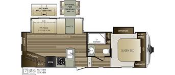 20 Foot Travel Trailer Floor Plans Cougar