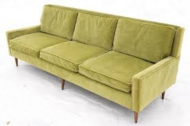 Paul Mccobb Sofa by Mid Century Paul Mccobb Green Velvet Sofa U2013 Reposed Ny Vintage And