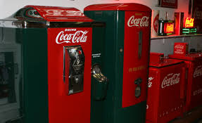 now a walk to the coca cola vending machine will earn you not just