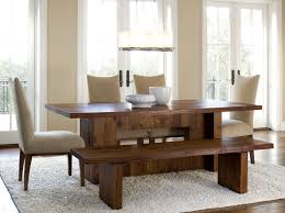 Stunning Bench For Dining Room Table Photos Home Design Ideas - Dining room table with bench
