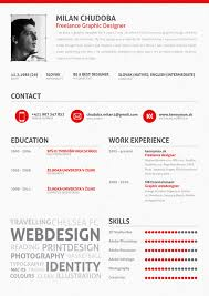 Sample Resume Website by Graphic Design Resume Best Practices And 51 Examples