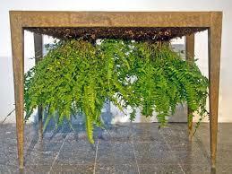 eco friendly home design upside down planter table