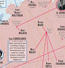 Nba Map A History Of New York City Basketball