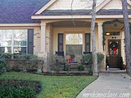 Simple Outside Decorations For Christmas by Outdoor Christmas Decor The Front Porch Mrs Hines U0027 Class