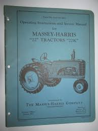 buy massey harris 20 u0026 20k tractor s n 1001 u0026 up parts catalog
