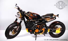 royal enfield classic 500 cafe scrambler haldankar customs